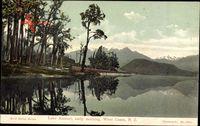 West Coast Neuseeland, Lake Kanieri, early morning, Berge, See, Wald