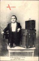 Le plus petit Écuyer du Monde, Bagonghi, Kofferträger