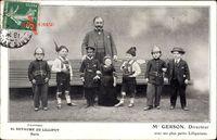 Paris, Souvenir du Royaume de Lilliput, Mr Gerson, Directeur, Liliputaner