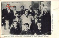 Les 13 escapés de Méricourt Corons, Bergbaukatastrophe 1906, Überlebende