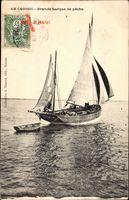 Le Croisic, Grande barque de peche, Fischerboot auf dem Wasser