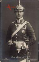 Kronprinz Wilhelm von Preussen, Portrait, Liersch 2149, Uniform, Pickelhaube