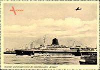 Schnelldampfer Bremen, Norddeutscher Lloyd Bremen, Ausfahrt, Jungfernreise