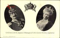 Passepartout Kaiser Wilhelm II., Kaiserin Auguste Viktoria