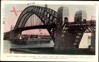Sydney Australien, Harbour Bridge, largest single arch bridge in the world