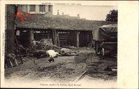 Mamers Sarthe, Catastrophe du 7 juin 1904, Chevaux noyes a la Scierie