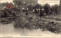 Mamers Sarthe, Catastrophe du 7 juin 1904, Jardins ravages par linondation