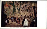 Jerusalem Israel, Wailing Wall, Worlds Fair St. Louis, Klagemauer, Juden