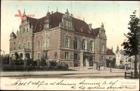 Gdańsk Danzig, Straßenpartie mit Blick auf das Generalkommando