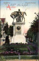 Grudziądz Graudenz Westpreußen, Bismarckdenkmal