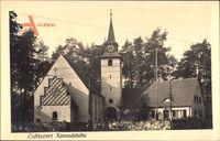 Berlin Reinickendorf Tegel Konradshöhe, Blick auf die Ortskirche