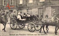 Amsterdam Nordholland Niederlande, Président Fallières, Wilhelmina