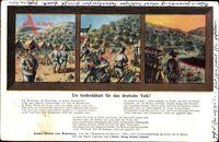 Lied Bastyr, H., Unsere Helden vom Waterberg, Gedenkblatt für das dt. Volk