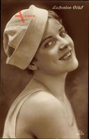 Lachendes Glück, Lachende Frau, Matrosenmütze, RPH 5033 4