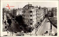 Tunis Tunesien, Place Anatole France, Avenue de Paris et Avenue Roustan