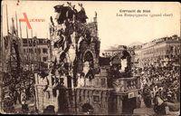 Nice Nizza Alpes Maritimes, Carnaval, Les Ratapignatta, Grand char