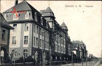 Świecie Schwetz an der Weichsel Westpreußen, Kaserne