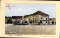 Orăștie Szászváros Rumänien, Casarma regiment 64