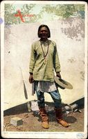 Al Che Say, White Mountain Apache Scout under General Crook, Indianer
