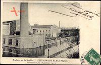 Ateliers de la Société LÉclairage Électrique, Inondation, 28 Janvier 191