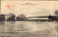 Mantes Limay Yvelines, Le Vieux Pont, Inondation 1910, Hochwasser