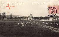 Évreux Eure Normandie, Le Pre du Bel Ebat, Männer beim Sport