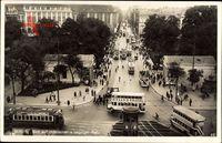Berlin Tiergarten, Potsdamer und Leipziger Platz, Straßenbahn