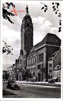 Berlin Charlottenburg, Blick auf das Rathaus, Seitenansicht