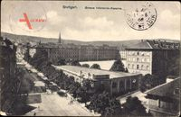 Stuttgart in Baden Württemberg, Große Infanterie Kaserne