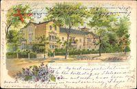 Dresden Ost Blasewitz, Pensionshaus zum Weißen Schloss, Christiana