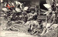Nouvelle Calédonie, Neukaledonien, Popinées, Frauen, Kinder