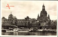 Dresden, Kunstakademie und Frauenkirche, Elbdampfer Bastei