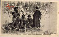 Aux Glaces Polaires, Une halte dans la forêt des Missionnaires, Evêque