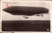 Le Dirigéable Liberté, Zeppelin, Französisches Luftschiff