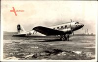 Swissair, Avion Douglas, Passagierflugzeug, HB ITI, Propellermaschine