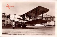 Avion Argozy, Londres Paris, City of Manchester, Imperial Airways