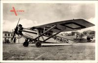 Farman 190, F AIYD, Propellermaschine, Monoplan