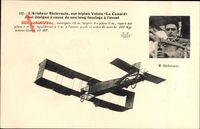 Aviateur Bielovucie, Biplan Voisin, Le Canard, Flugpionier