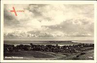 Kloster Insel Hiddensee in der Ostsee, Blick über die Insel