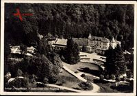 Badenweiler Hochschwarzwald, Schloss Hausbaden, Fliegeraufnahme