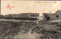 Zarzis Tunesien, Les Casernes, Ansicht der Kasernen
