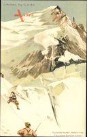 Le Montblanc, Aiguille du Midi, Berggesichter, Killinger No 134