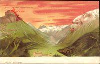 Titlis, Er träumt von einer Palme, Berggesichter, Killinger No 101