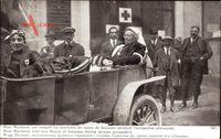 Mme Macherez qui remplit les fonctions de maire de Soissons