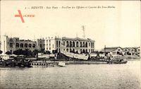Bizerte Tunesien, Baie Ponty, Pavillon des Officiers, Caserne des Sous Marins