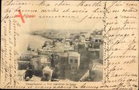 Jaffa Tel Aviv Israel, Vue partielle, Terre Sainte, Vogelschau auf den Ort