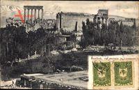 Baalbek Libanon, Vue générale de l'Acropole, ropolis