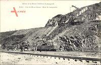 Brasilien, Etat de Minas Geraes, Mine de manganèse, Bergbaumine