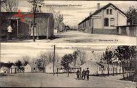 Oberhoffen sur Moder Oberhofen Elsaß Bas Rhin, Truppenübungsplatz, Baracken