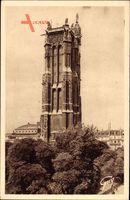 Paris, Tour Saint Jacques, 1508 à 1522, Ex Clocher de l'Église
